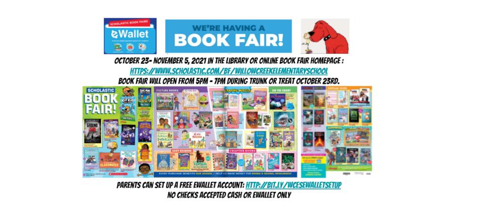 2021 fall book fair