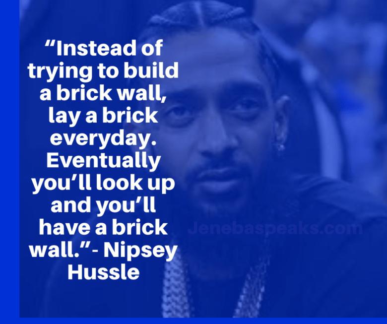 Nip Brick Quote