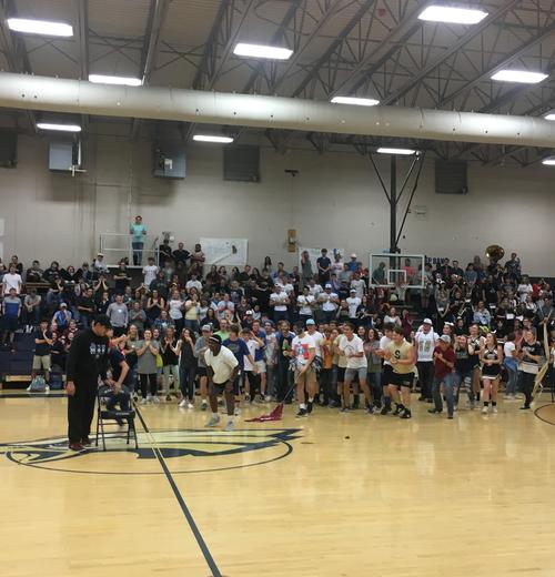 2018 SHS vs CCCHS Pep Rally