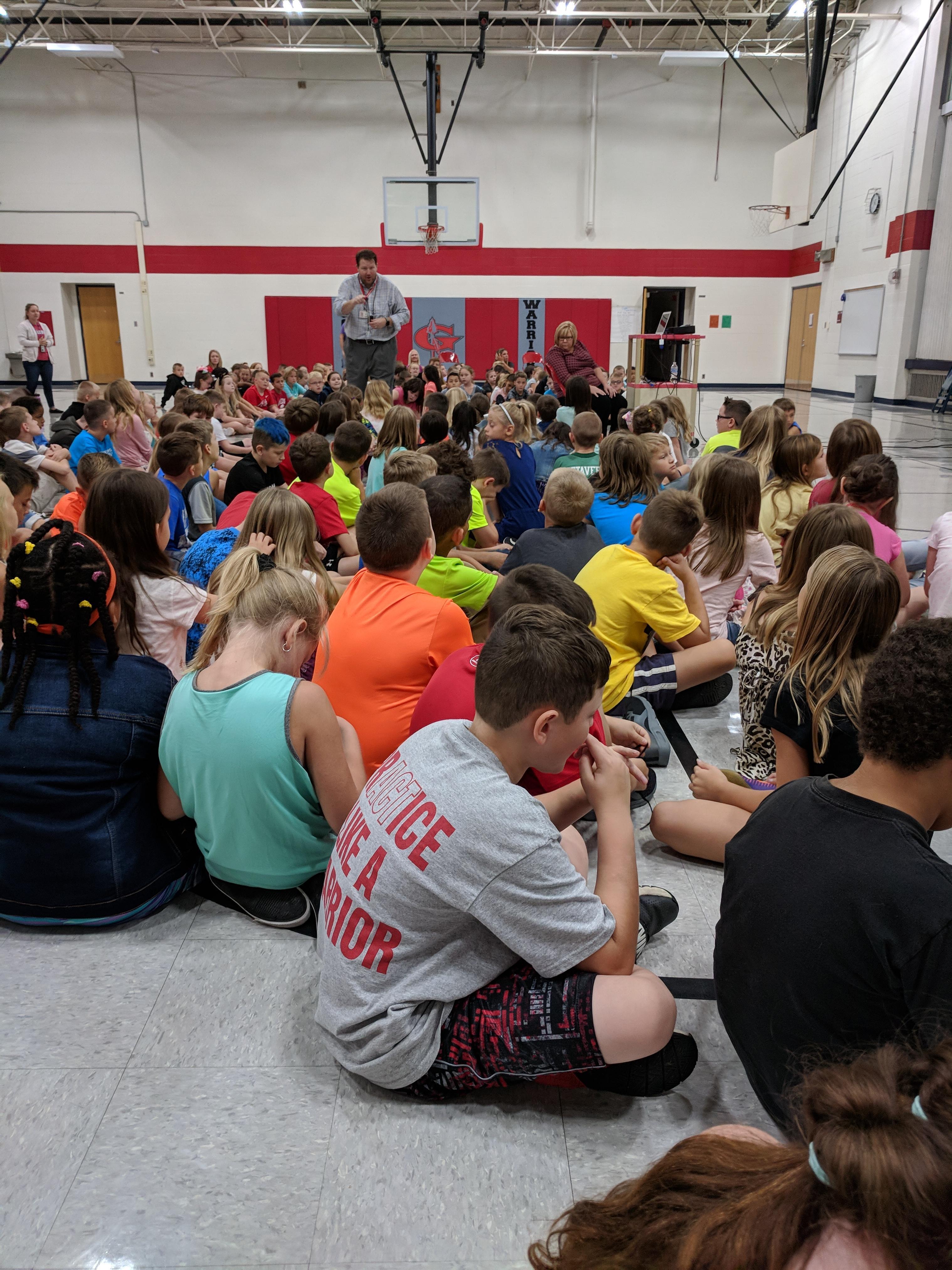 3rd grade assembly