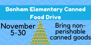 Bonham Elementary Canned Food Drive.png