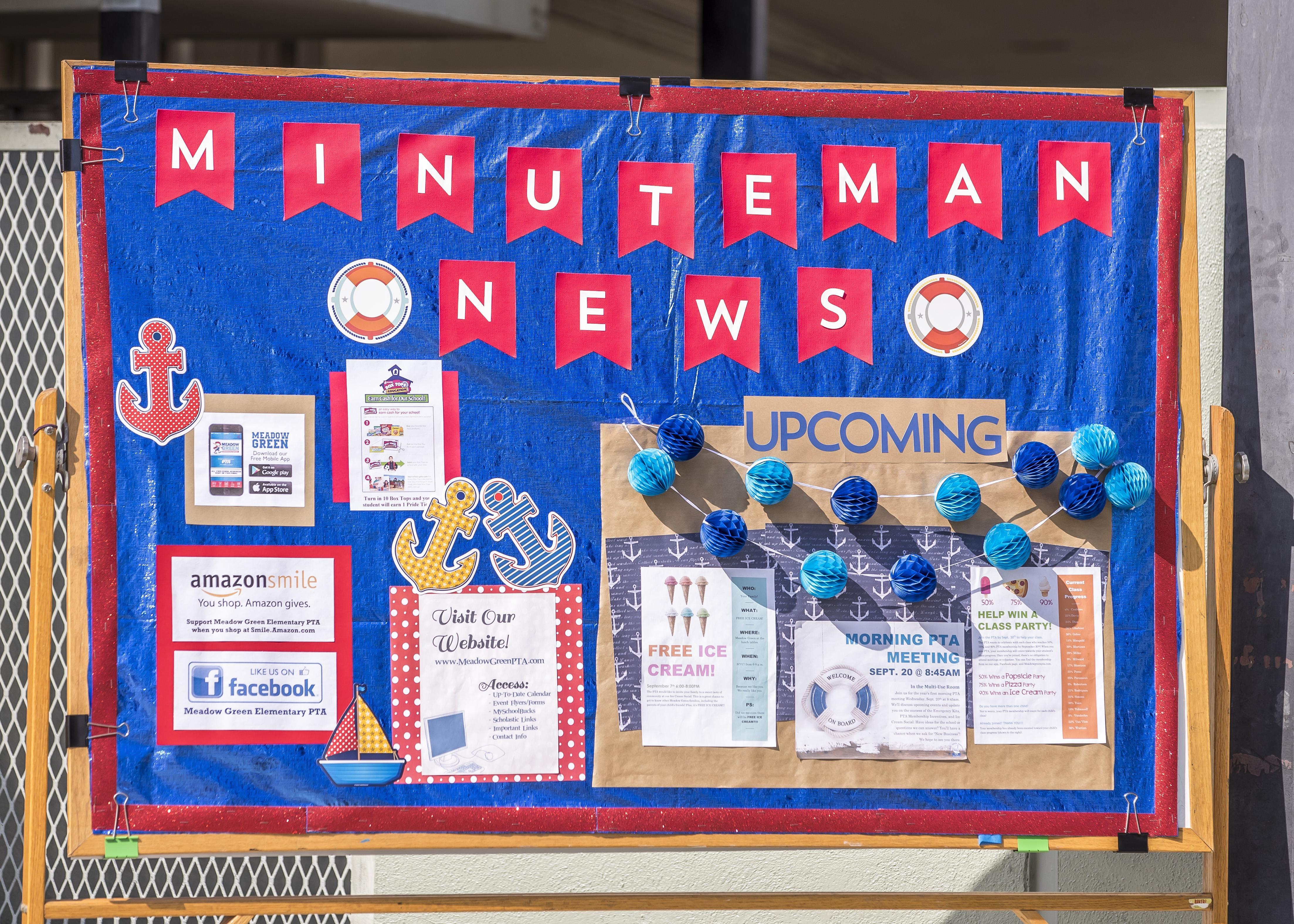 Minuteman News Bulletin Board