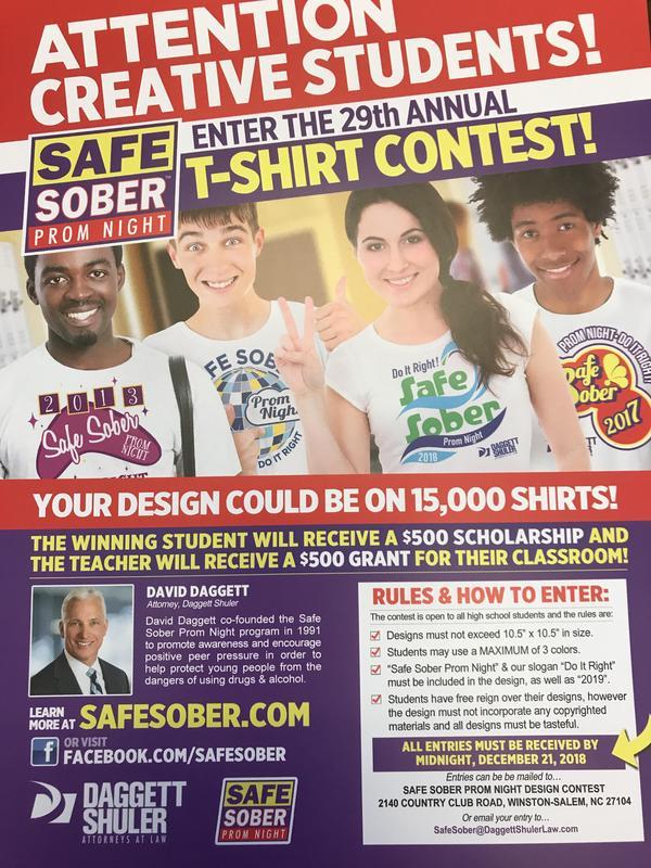 Safe Sober T-Shirt Contest
