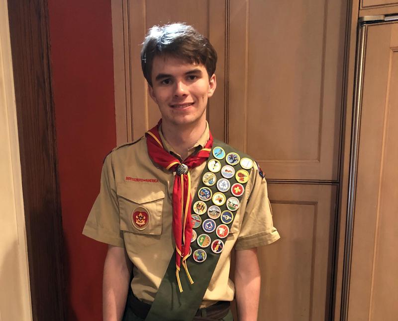 McTernan '19 Earns Eagle Scout Rank Featured Photo