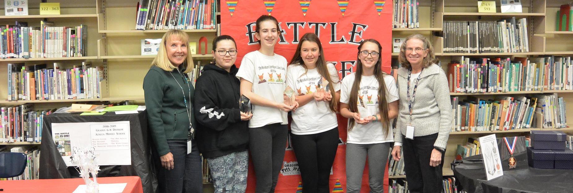 AMS Miniature Literature Libro Llamas headed to 'State'