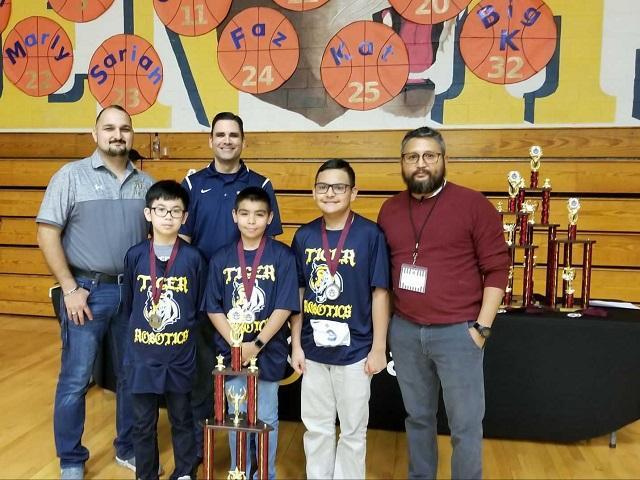 Robotics Club Winners