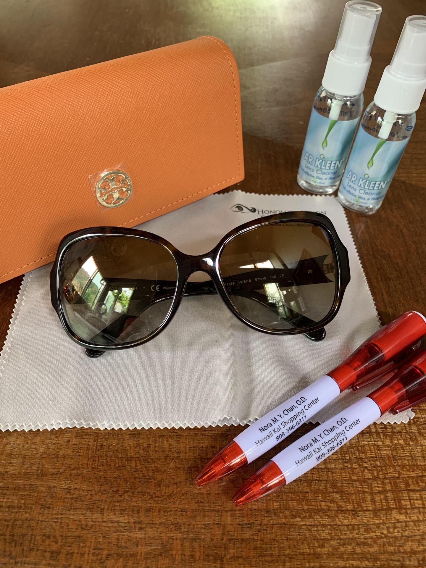 Tori Richards Sunglasses and Kit