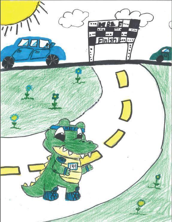 Gator Run Art Contest Entries Due 2/15 Thumbnail Image