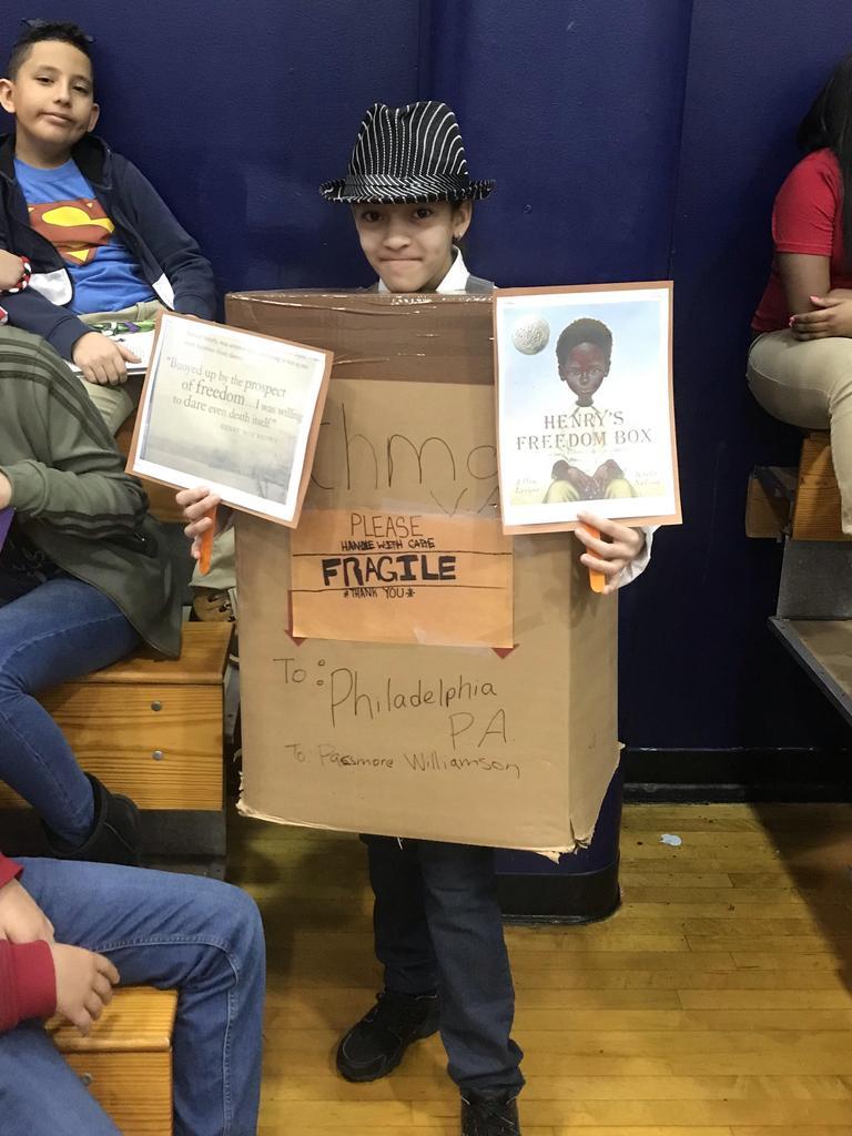 henry's freedom box costume