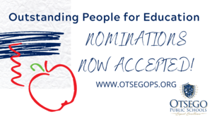 graphic noting that nominations are now being accepted for this award