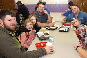 Batesburg-Leesville Primary School hosted a special Donuts with Dad event on Wednesday, February 5th to encourage participation in the school's WATCH D.O.G.S. program.