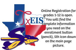 Online Registration for grades 1-12 is open.  You will find the complete information you need on the enrollment button (pencil), 5th icon down on the main page picture.