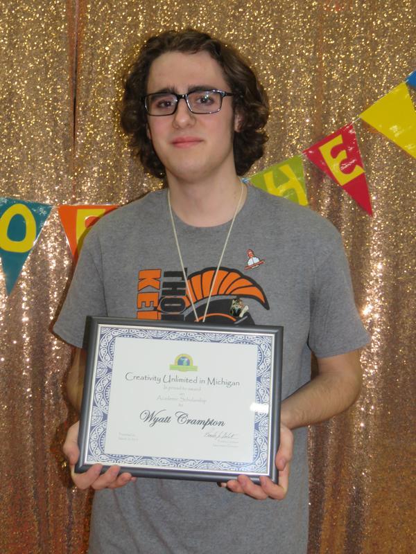 TK senior Wyatt Crampton was awarded one of the four OM scholarships.
