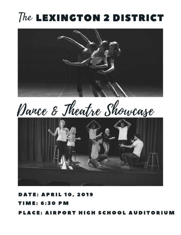 Dance/Theatre Showcase flyer