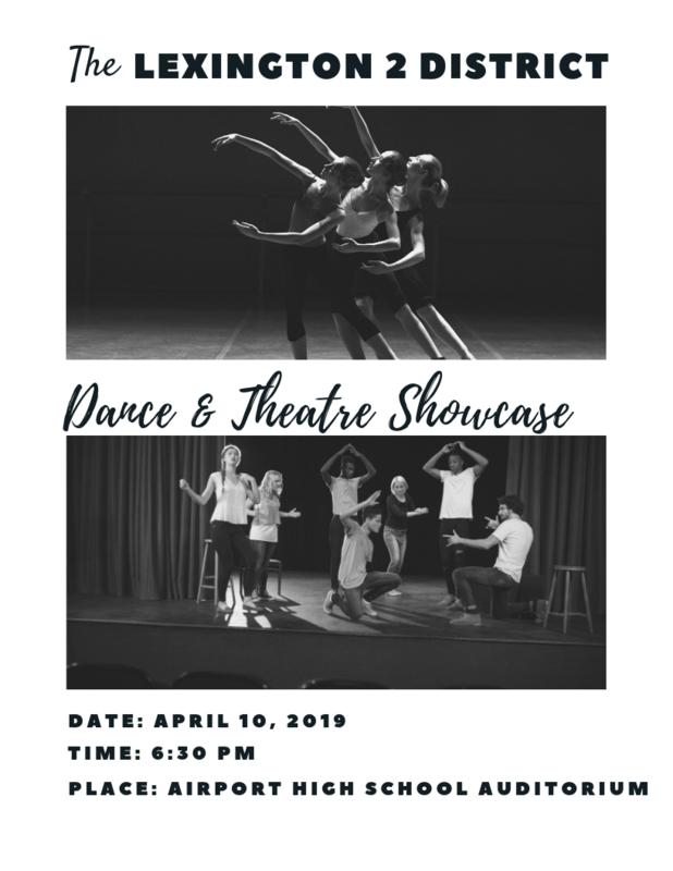 Dance/Theatre Showcase flyer