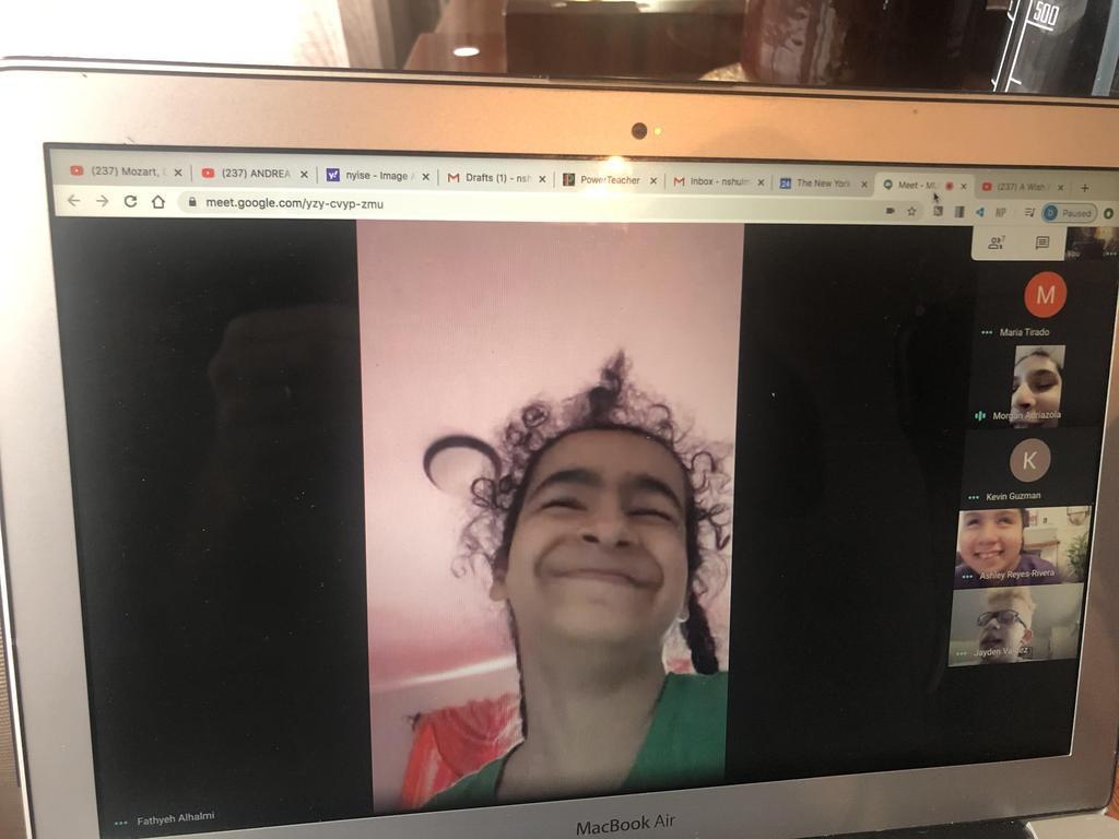 Fatya in Remote Learing
