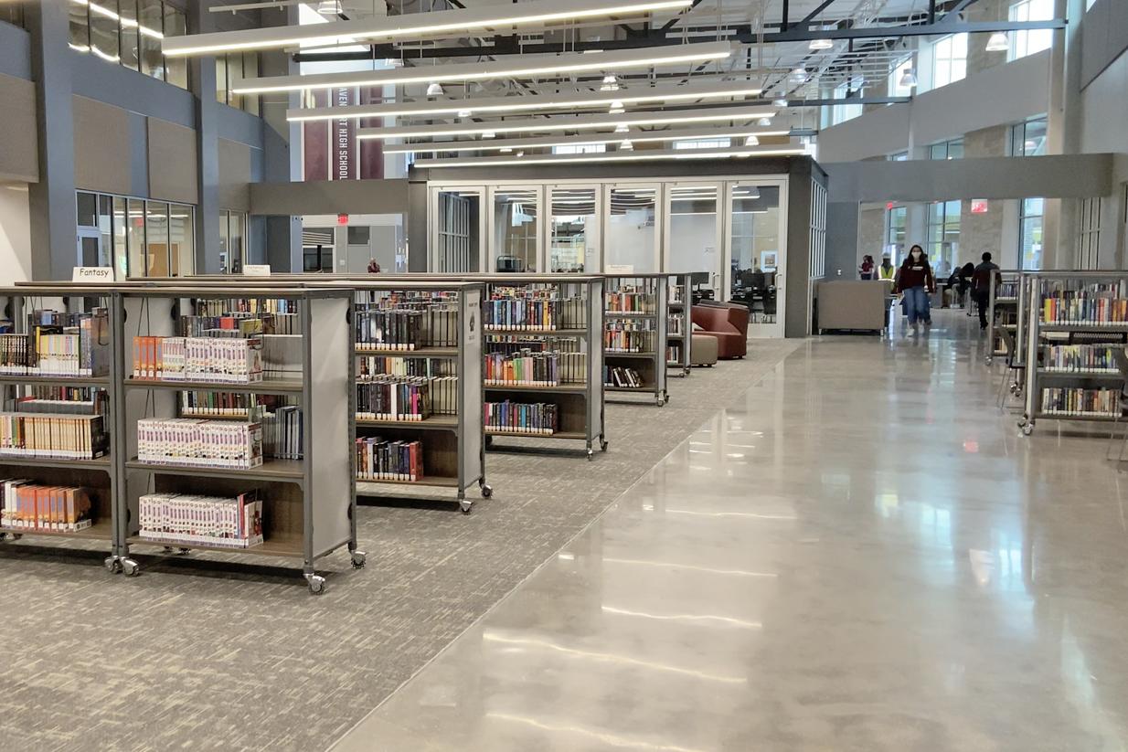 Davenport HS library