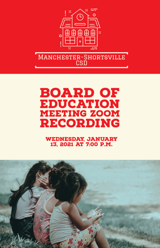 boe meeting recording
