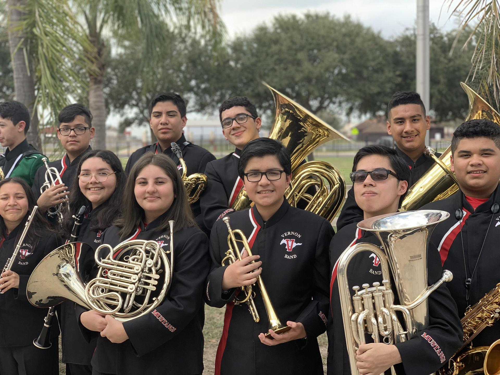 2020 MS All-Region Band Members