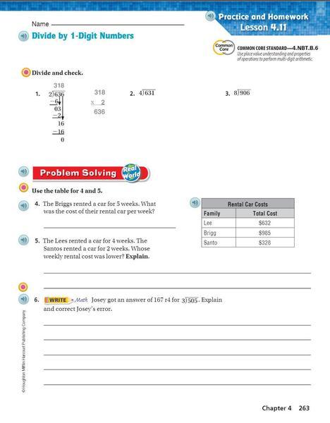 p. 263 Divide by 1 digit numbers.JPG