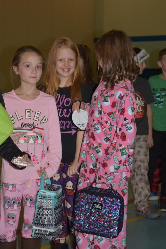 Pajama Day at Elementary