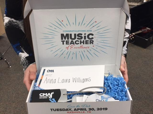 Siegel Middle band instructor receives CMA Foundation's Teacher of Excellence Award Thumbnail Image