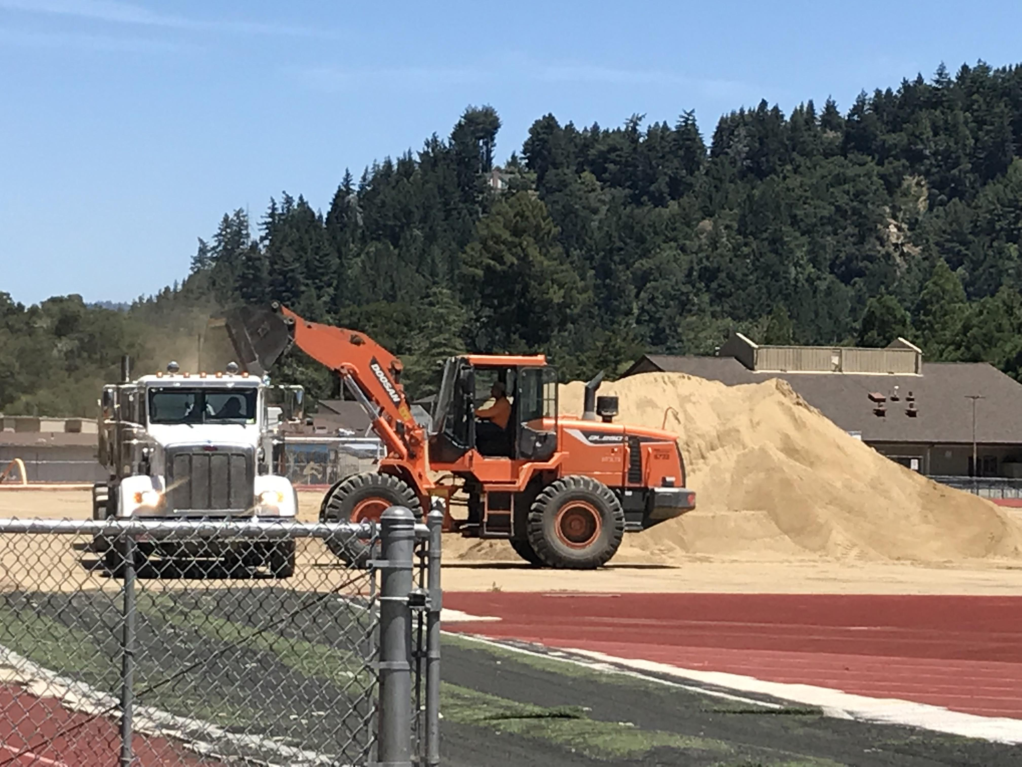 Turf Field Project Pic