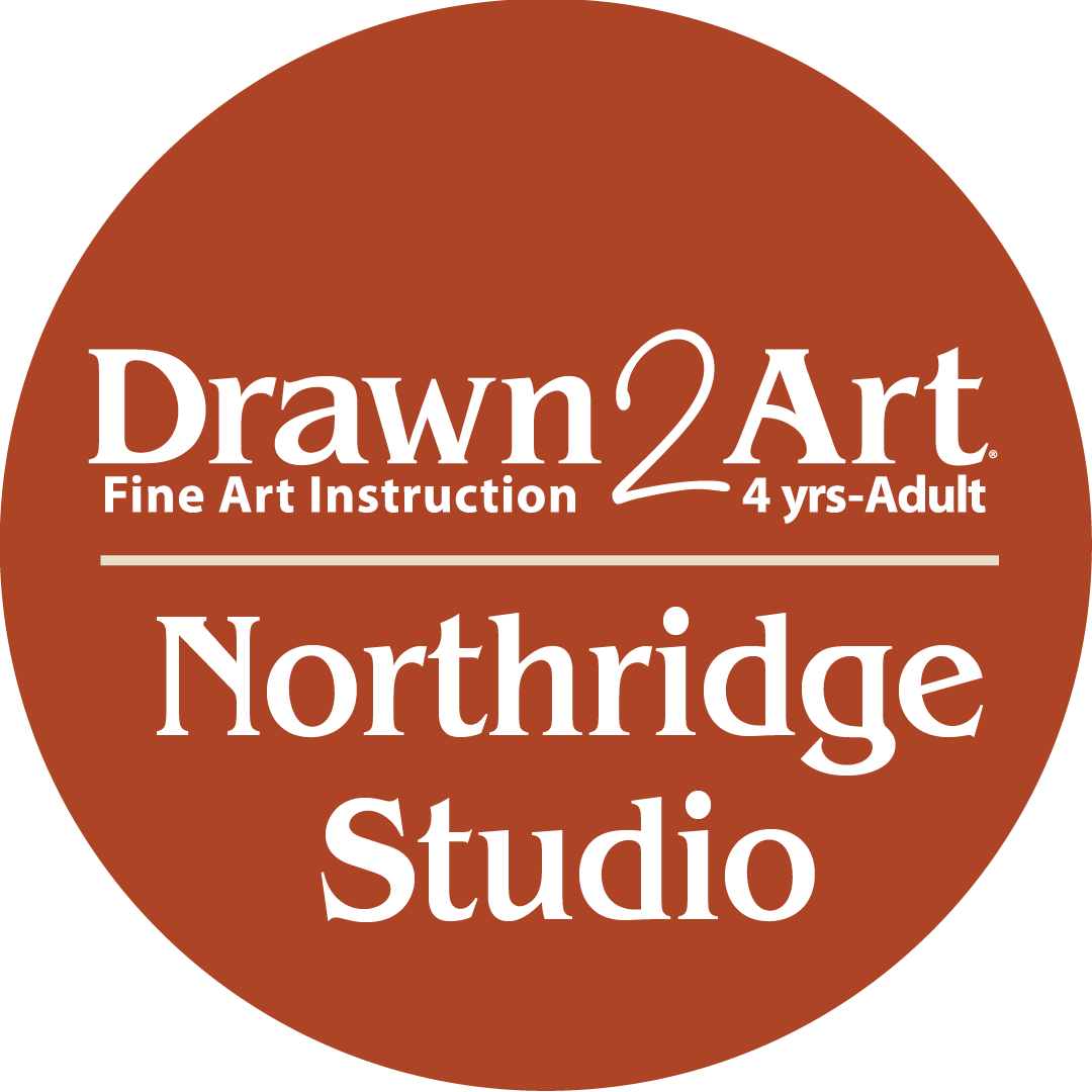 Drawn 2 Art Northridge Studio logo