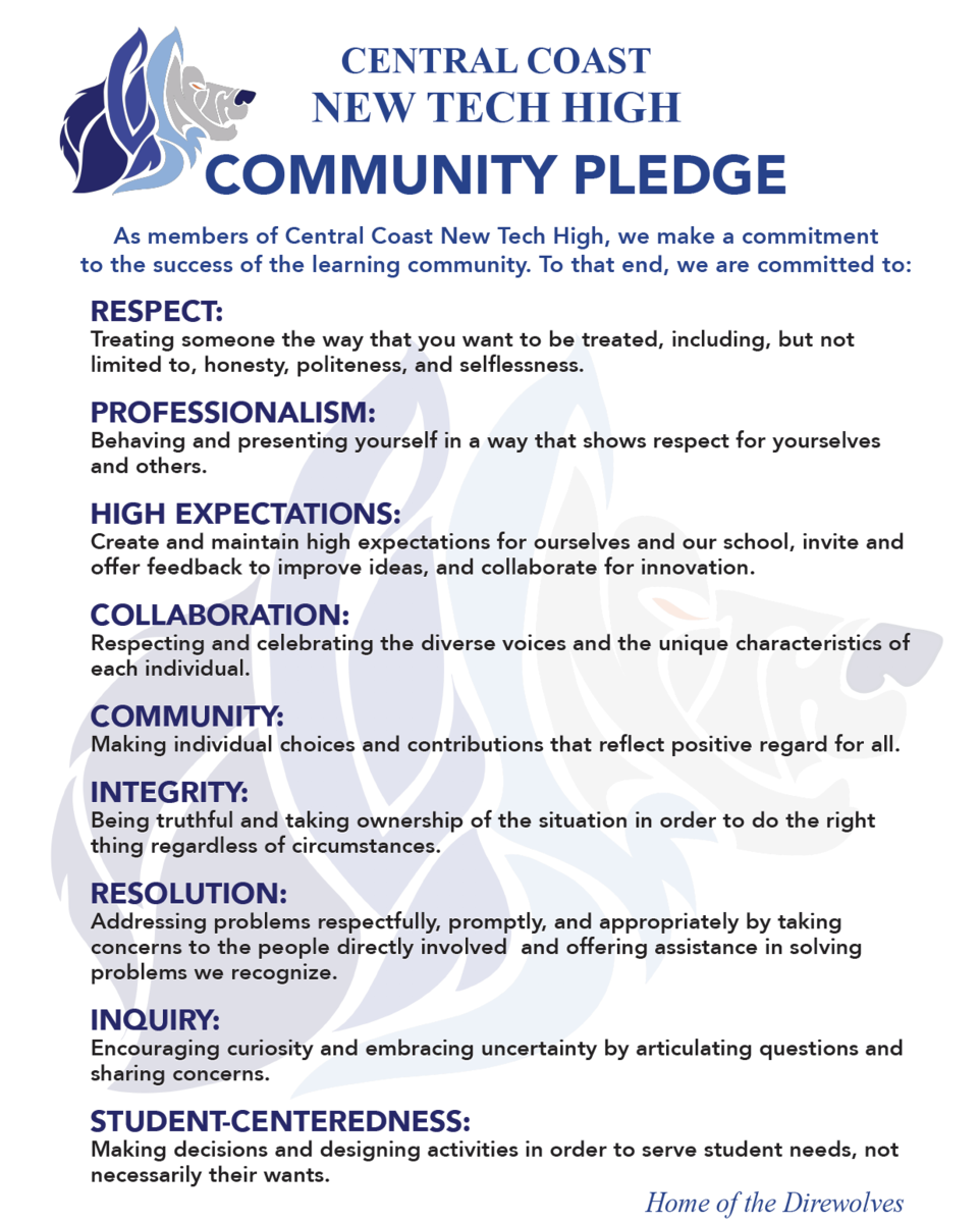 CCNTH Community Pledge