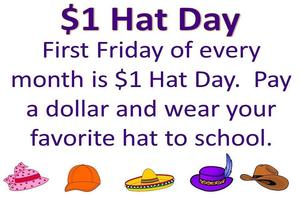Dollar Hat Day