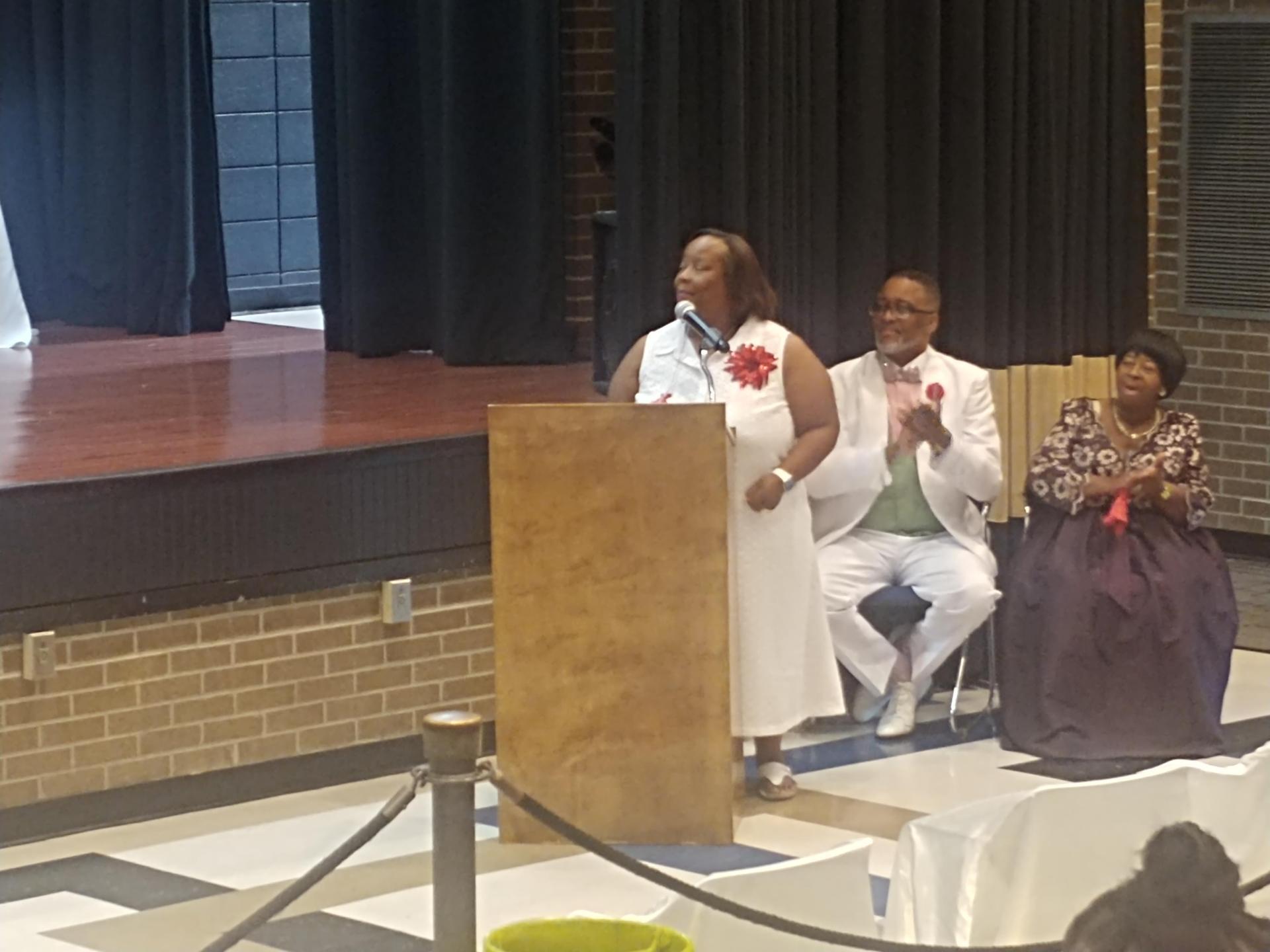 BCHS G. Choir Singing for Birthday Celebration 2019-2020 School Year