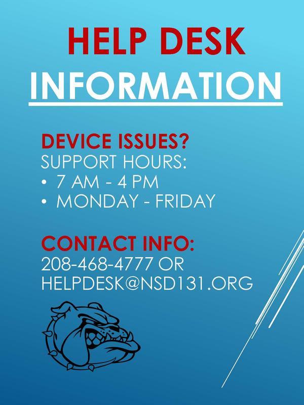 Help Desk Info