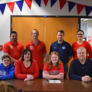 Olivia Turley signed a letter of intent to play soccer at MacMurray