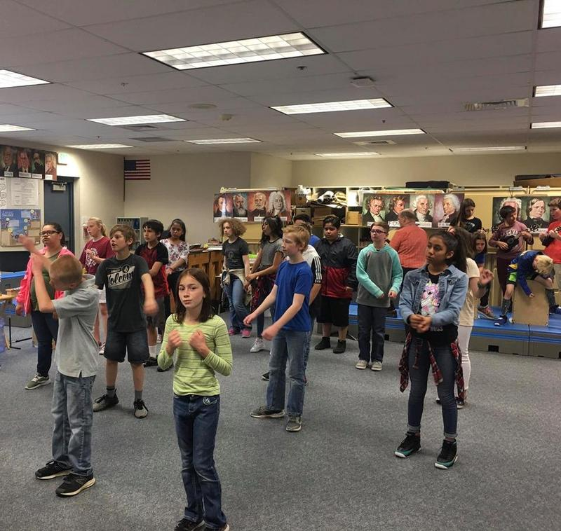 5th graders are getting ready for 5th Grade graduation! Thumbnail Image