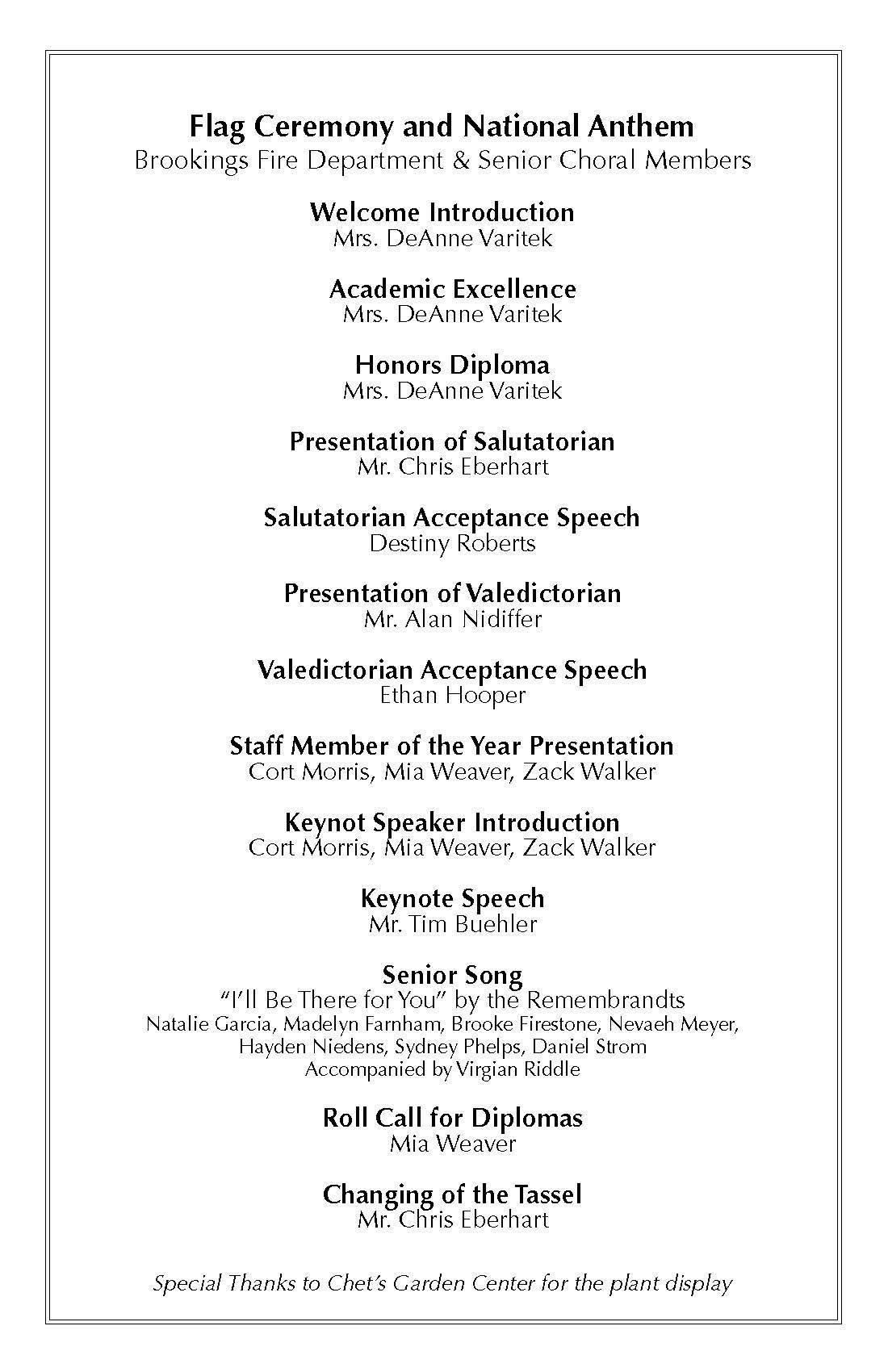 BHHS Grad Program Page 2
