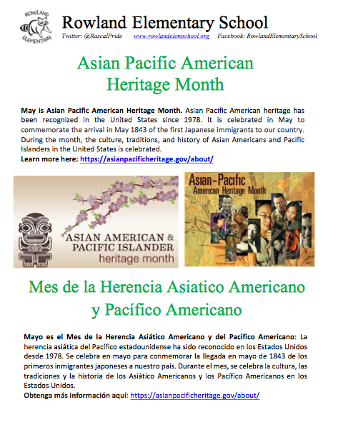 May is Asian Pacific American Heritage Month Featured Photo