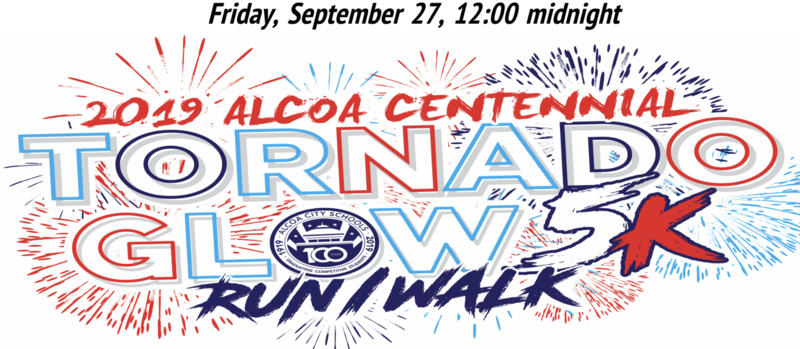 Alcoa Centennial Celebration Tornado Glow Run Featured Photo