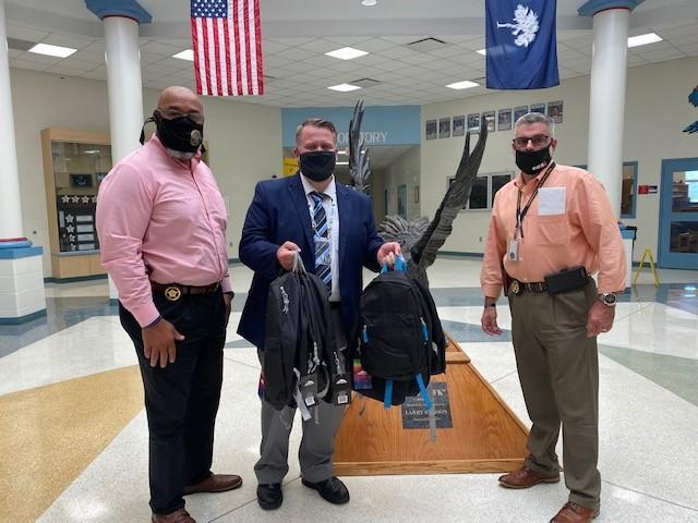 Sheriff's Office donates Bookbags and School Supplies Featured Photo