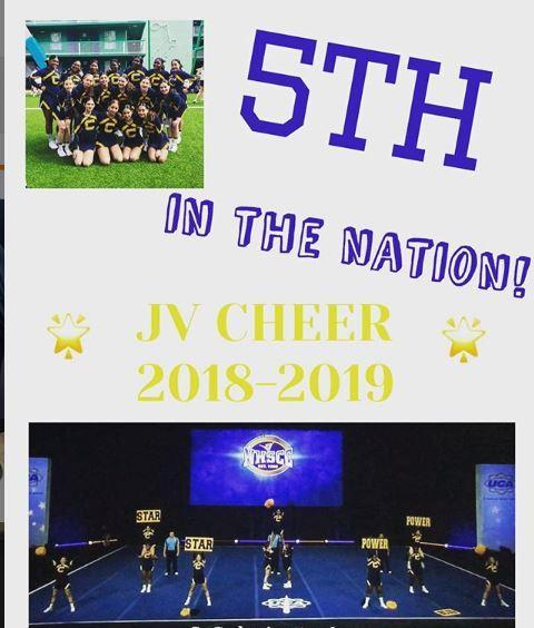 Cheer 5th place