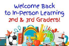 Celebrating 2nd Week Back, adding 2nd and 3rd Graders Featured Photo