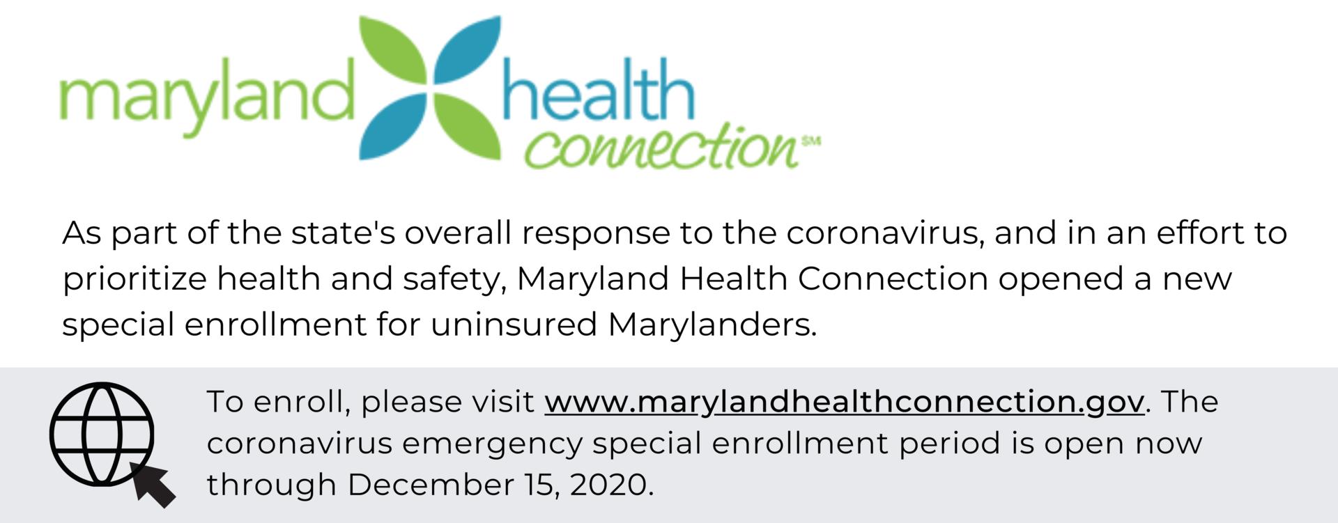 Uninsured Marylanders