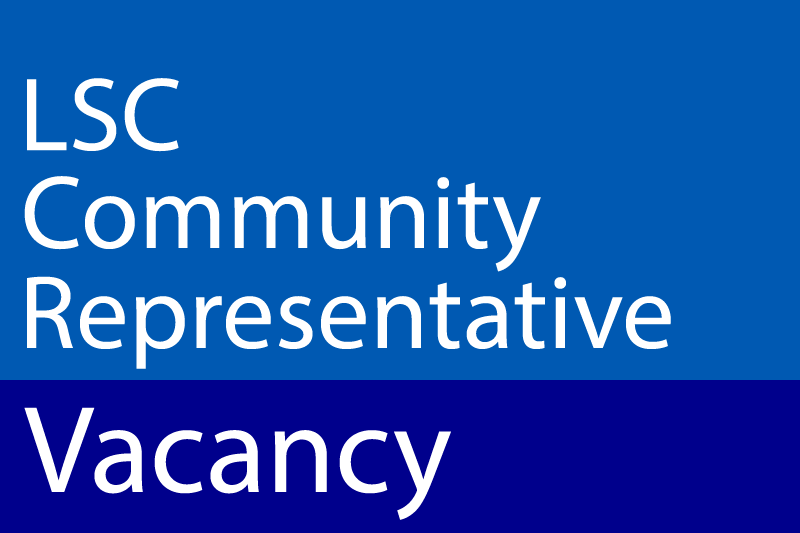 Image LSC Community Representative Vacancy Button