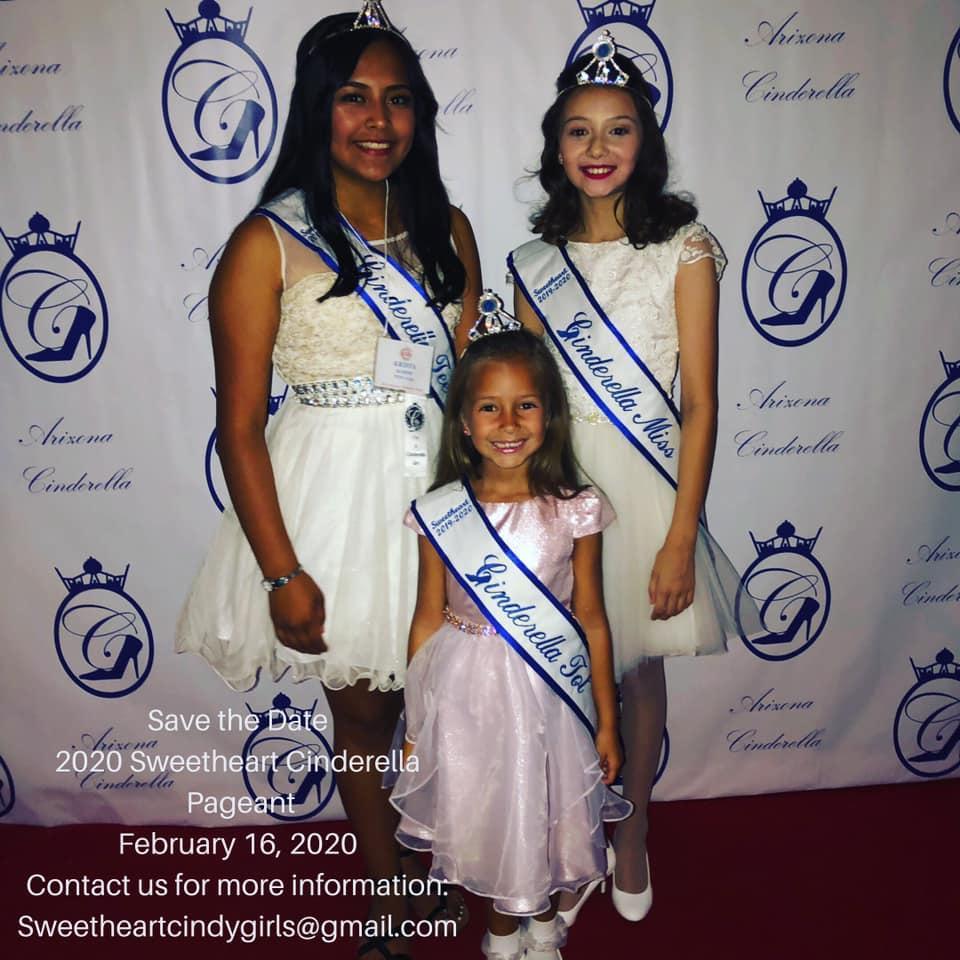 Sweetheart Cinderella Winners for 2019