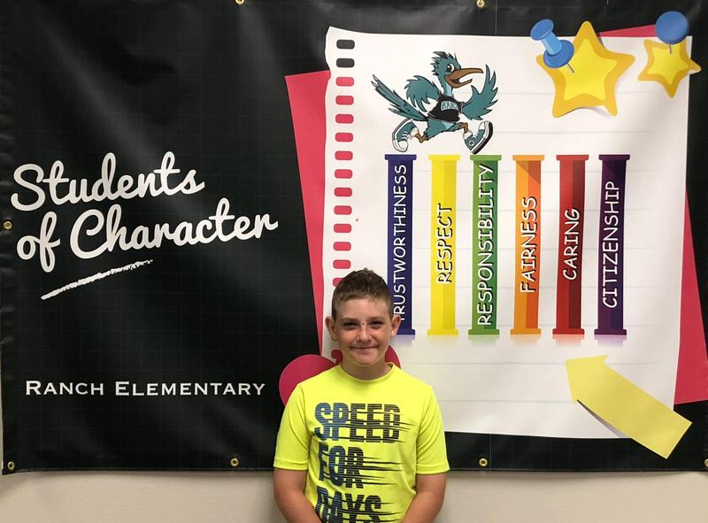 Student of the Month - August 2018
