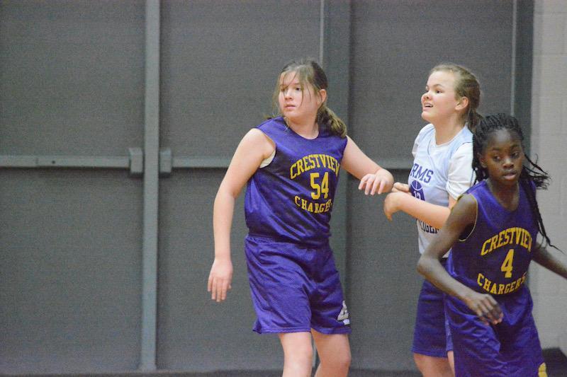 Girls Basketball Action 5