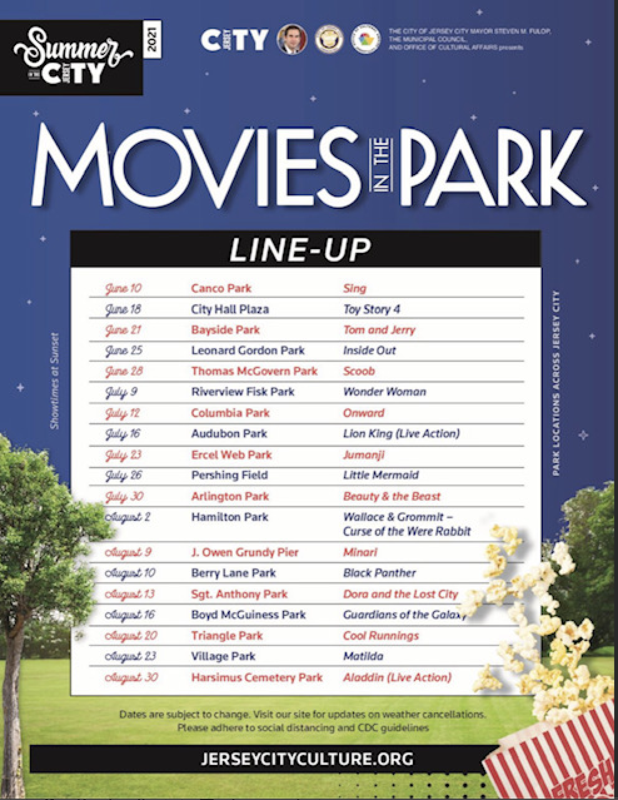 Movies in The Park!  Come out and enjoy a movie under the stars. Featured Photo