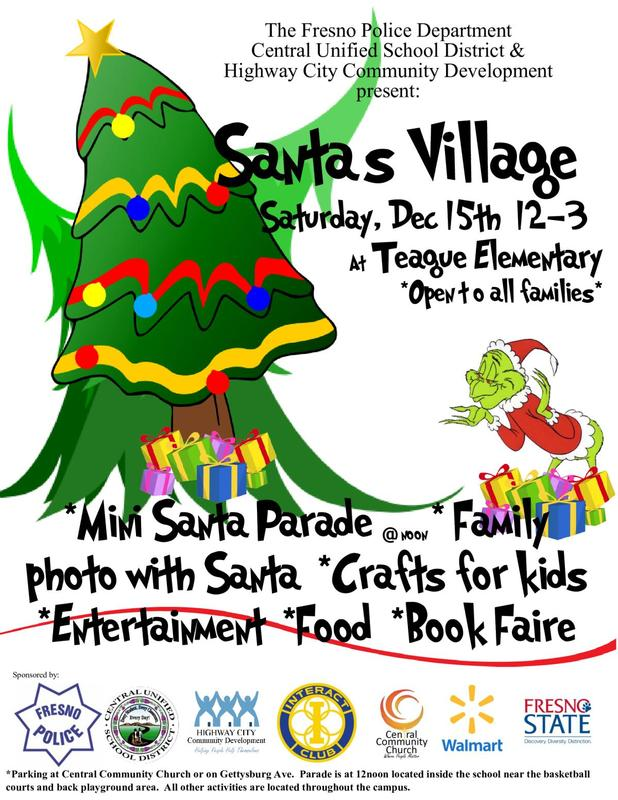 Santa's Village Flyer