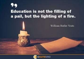 WB Yeats, Lighting the Fire