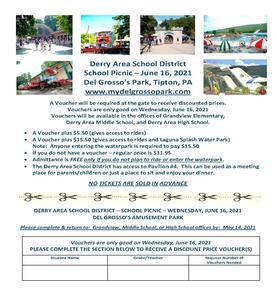 DASD School Picnic Flyer