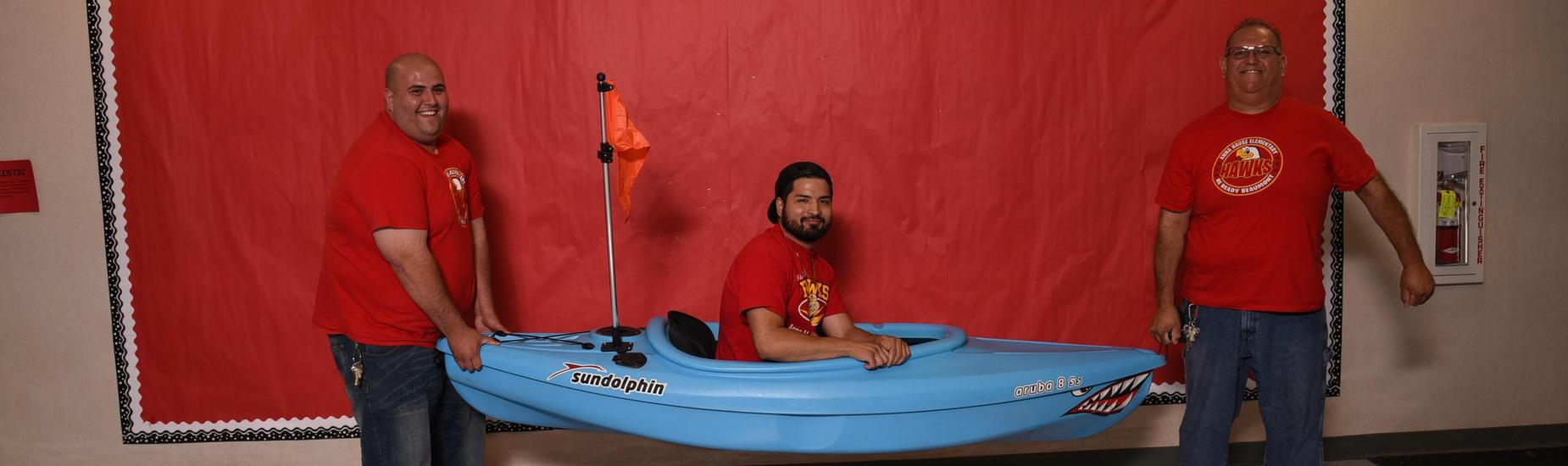 mind in boat